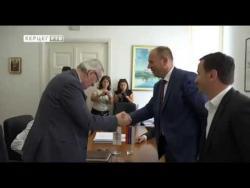 Требиње: Потписан уговор о изградњи система за наводњавање (ВИДЕО)