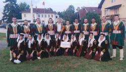 """Članovi KUD-a """"Zelengora"""" učesnici HI festivala folklora u Pelegićevu"""