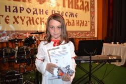 Jovana Ristić iz Nevesinja apsolutni pobjednik Vaskršnjeg festivala
