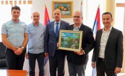 Посјета шефа мисије ОЕБС-а градоначелнику Требиња