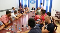 Петровић на састанку са професорима физичког васпитања и спорта