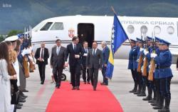 Vučić stigao u dvodnevnu posjetu