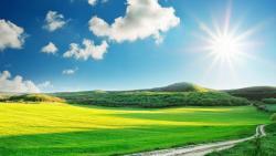 Сунчано и пријатно топло