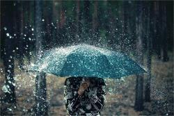 Облачно са слабом кишом