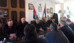 Predsjednik Boračke organizacije Republike Srpske Milomir Savčić u posjeti Gacku