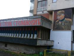Vojvoda Stepa dobio mural u svojoj ulici u Foči