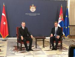 Вучић приредио свечани дочек Ердогану