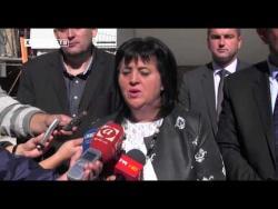 Голић у Требињу: Реконструкција Болнице поклон Владе (ВИДЕО)