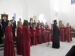 Koncert kamernog hora u Gacku