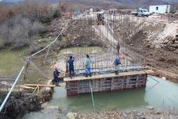 У Зовом долу се гради модеран мост вриједан 450.000 КМ