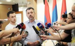 Radojičić odustao od izlaska iz Kluba poslanika SNSD-a