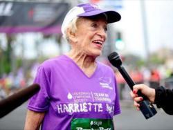 Istrčala maraton sa 92 godine