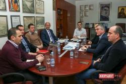 Одржан радни састанак управе ХЕТ-а и Градске управе Требиње