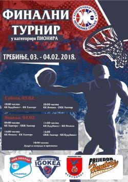 Trebinje domaćin finalnog turnira u košarci