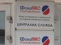 Fond PIO Srpske: Prijaviti radnike koji ispunjavaju uslove za penziju