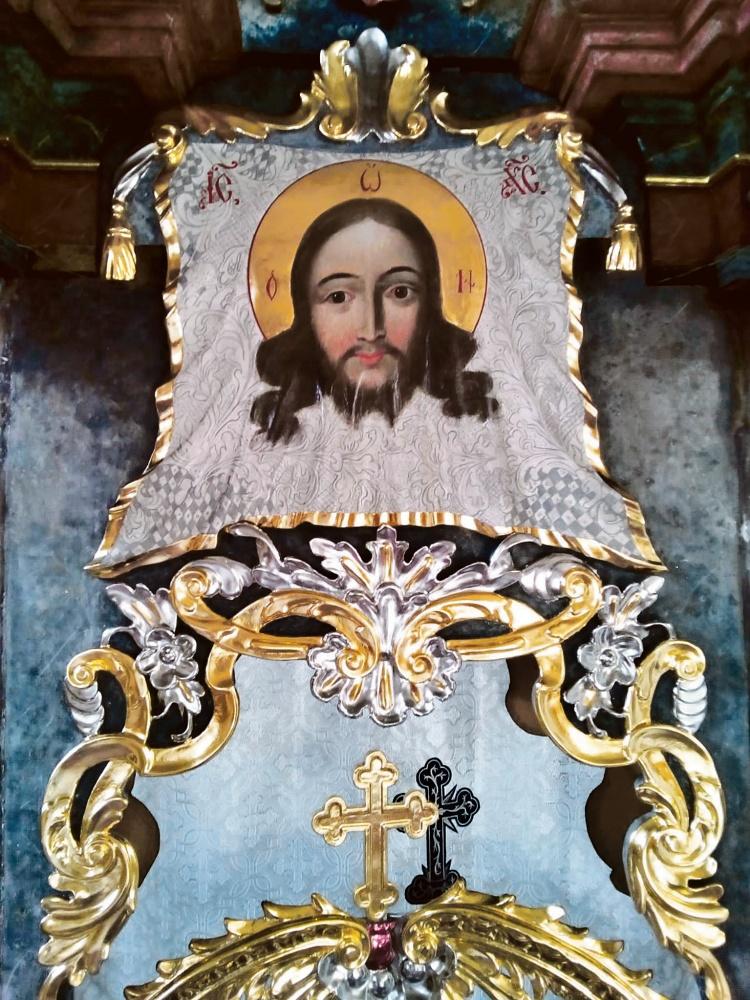 Nadverje iz crkve Svetog Đorđa u Temišvaru: Pozlaćivanje u kombinaciji bijelog i žutog zlata, kakvo se rijetko izvodi