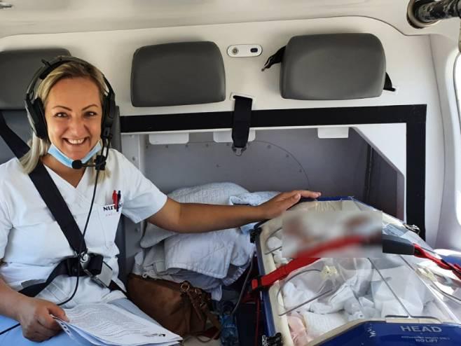 Još jedna uspješna evakuacija Helikopterskog servisa Srpske-helikopterski servis srpske-novorodjeni blizanci